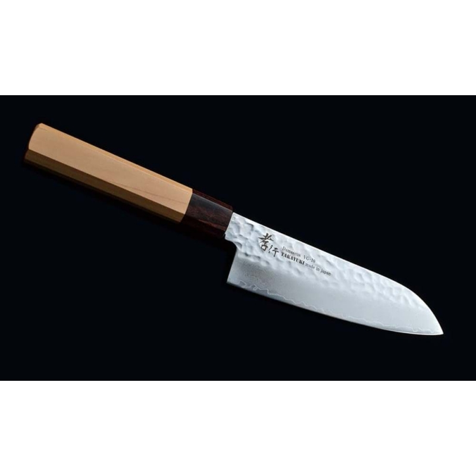 Sakai Takayuki Damascus 33 WA японский поварский нож САНТОКУ, 170 мм