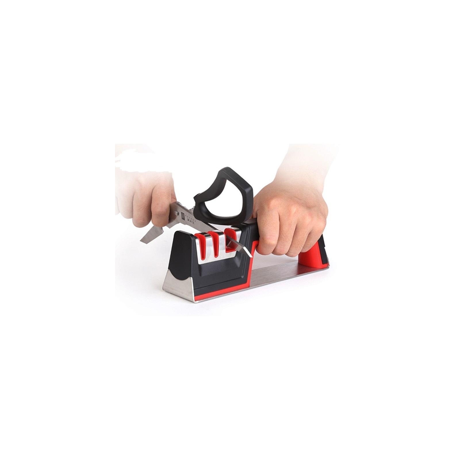 Двухступенчатая точилка для ножей и ножниц Taidea TG1705
