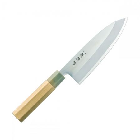 Fuji Ryutoku Octagon японский поварский нож САНТОКУ, 165 мм