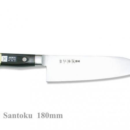 Minamoto Kanemasa японский поварский нож САНТОКУ, 180 мм, 59-60 HRC
