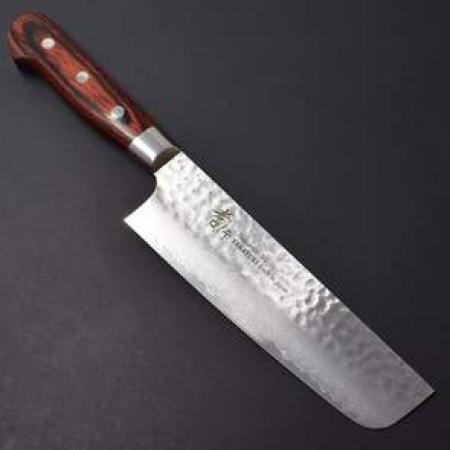 Sakai Takayuki Damascus 33 Classic nakiri, 160 mm