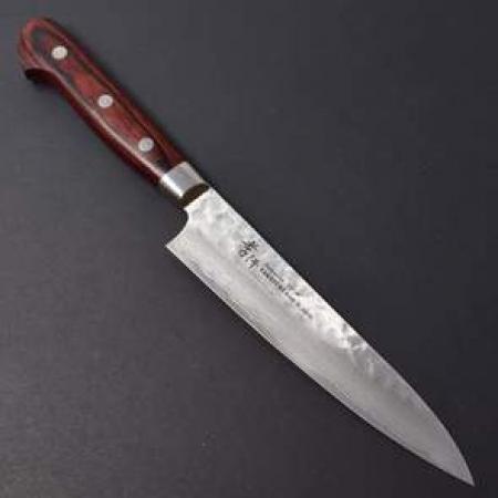 Sakai Takayuki Damascus 33 маленький универсальный нож, 120 мм