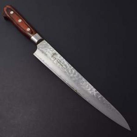 Sakai Takayuki Damascus 33 WA нож-слайсер СУДЗИХИКИ, 240 мм