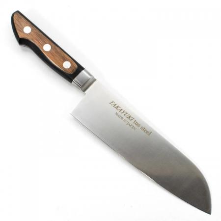 Sakai Takayuki TUS японский поварский нож САНТОКУ 180 мм