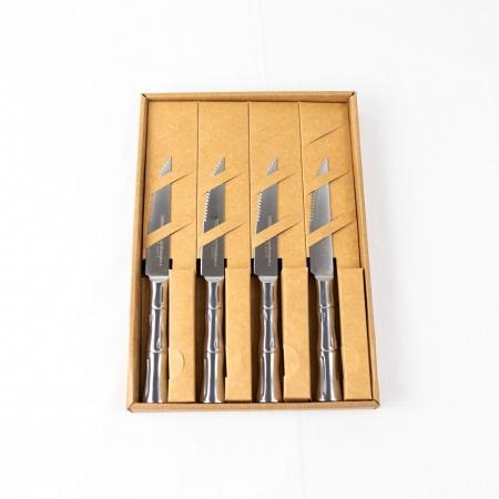 Samura Bamboo набор ножей для стейка, 4 шт