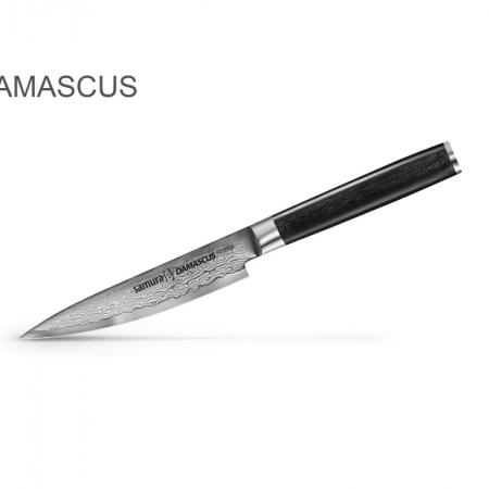 Samura Damascus маленький универсальный нож 125 мм, 61 HRC
