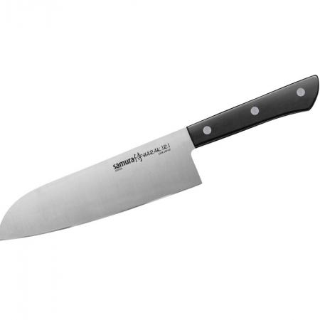 Samura HARAKIRI поварский нож САНТОКУ 175 мм, 58-59 HRC