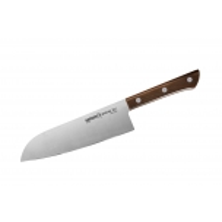 Samura HARAKIRI поварский нож САНТОКУ 175 мм. 58-59 HRC