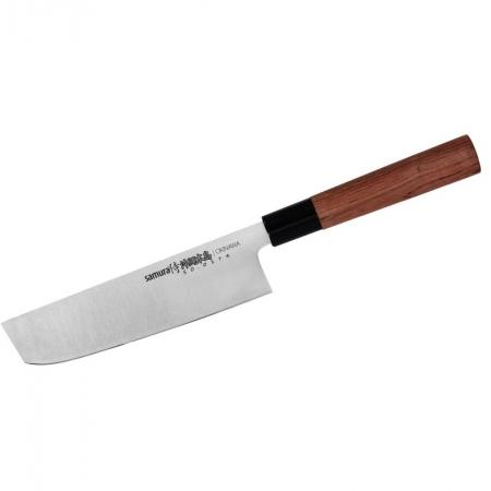 Samura OKINAWA нож НАКИРИ 172 мм. 59 HRC