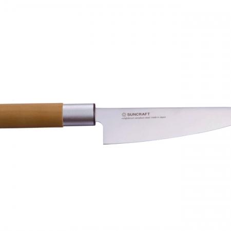 Senzo Japanese маленький японский поварский нож САНТОКУ, 143 мм