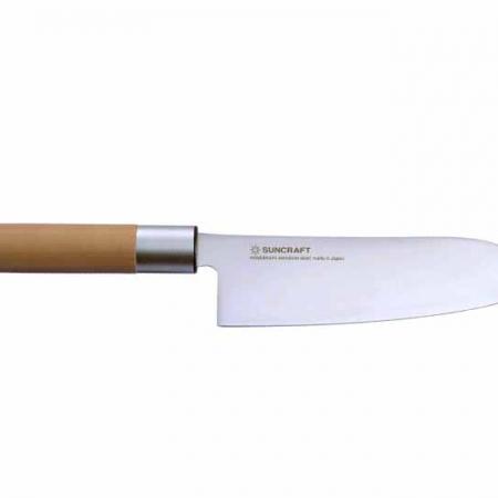 Senzo Japanese японский поварский нож САНТОКУ, 167 мм