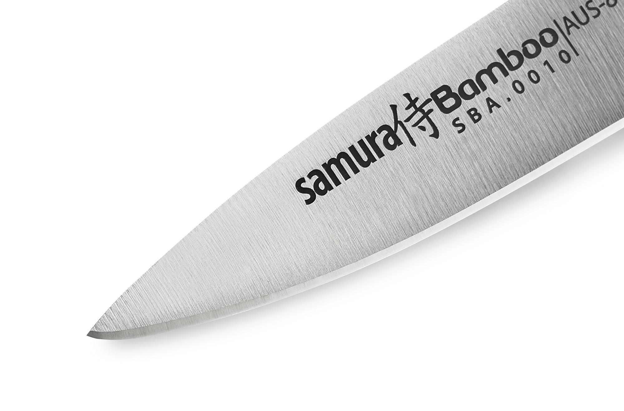Samura BAMBOO väike koorimisnuga 80 mm